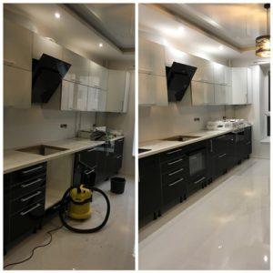Миття кухні після ремонту