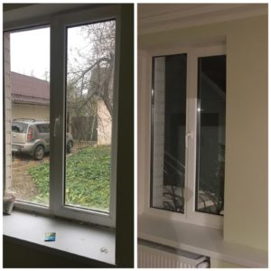 Мийка вікон у власному будинку