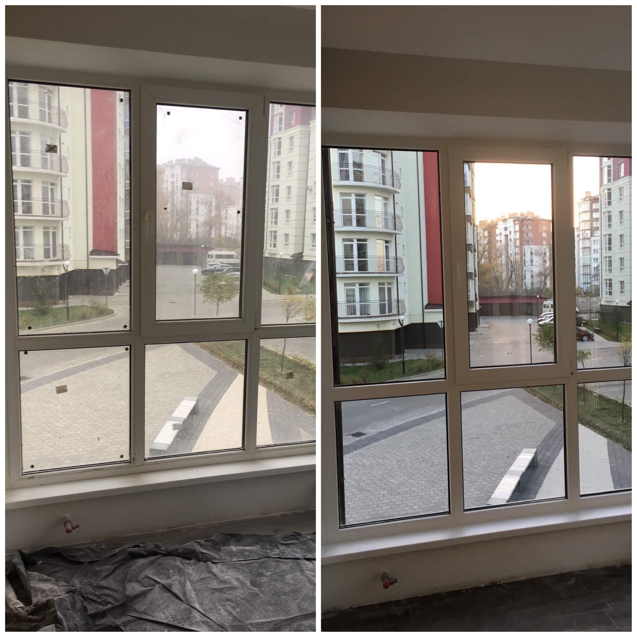 Помити панорамне вікно Івано-Франківськ